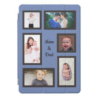 お母さん及びパパ6の写真のカスタム iPad PROカバー