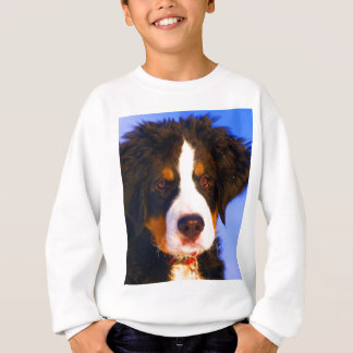 お母さん愛のためのバーニーズ・マウンテン・ドッグの待ち時間 スウェットシャツ
