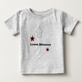 お母さん愛 ベビーTシャツ
