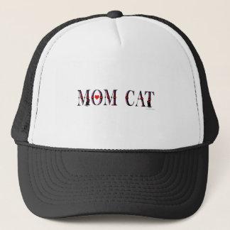 お母さん猫 キャップ