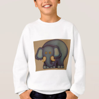お母さん象 スウェットシャツ