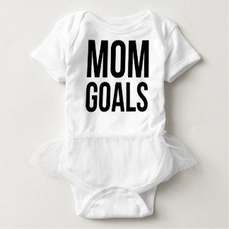 お母さん、お母さんのためのワイシャツのためのお母さんのゴールのギフト ベビーボディスーツ