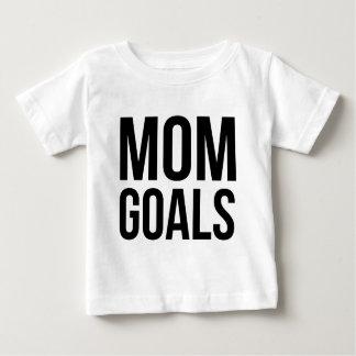 お母さん、お母さんのためのワイシャツのためのお母さんのゴールのギフト ベビーTシャツ