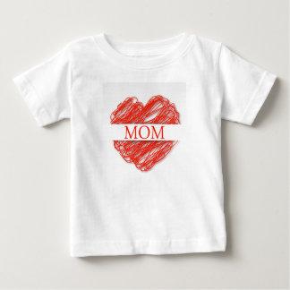 お母さん ベビーTシャツ
