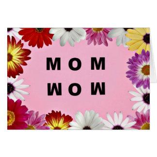 お母さん-ワウ、母の日メッセージ カード