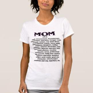 お母さん。 別名… Tシャツ