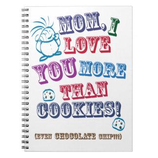 お母さんI愛クッキーより多く! ノートブック