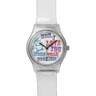 お母さんI愛クッキーより多く! 腕時計