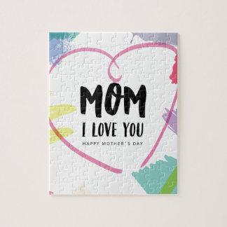 お母さんI愛 ジグソーパズル