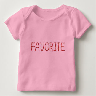 お気に入りのなベビーのラップのTシャツ ベビーTシャツ