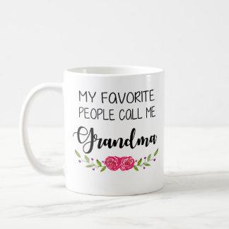 お気に入りのな人々は私を祖母と電話します コーヒーマグカップ