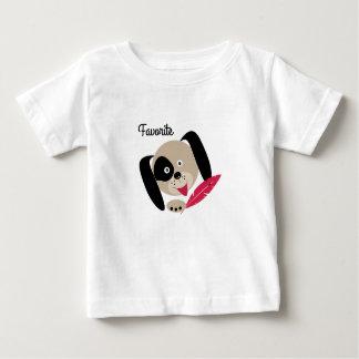 お気に入りのな犬。 ベビーTシャツ