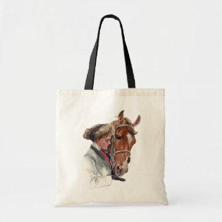 お気に入りのな馬 トートバッグ