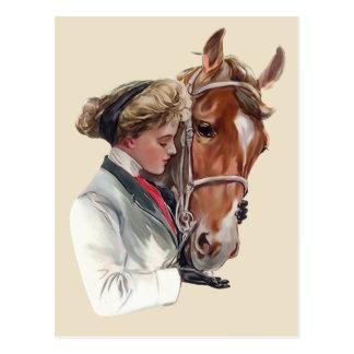 お気に入りのな馬 ポストカード