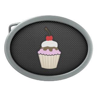 お洒落なカップケーキ 卵形バックル