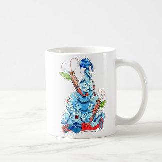 お洒落なクリスマスのアラスカの野性生物のコーヒー・マグ コーヒーマグカップ