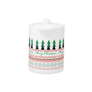 お洒落なクリスマスの幾何学的なパターン
