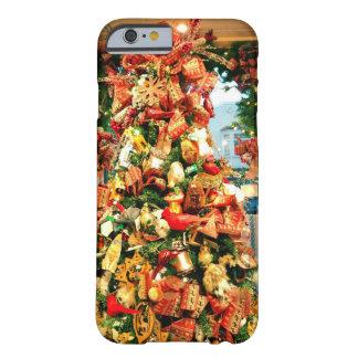お洒落なクリスマスツリーの電話箱 BARELY THERE iPhone 6 ケース