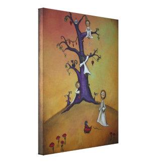 お洒落なクリーパーのキャンバスの芸術11x14 キャンバスプリント