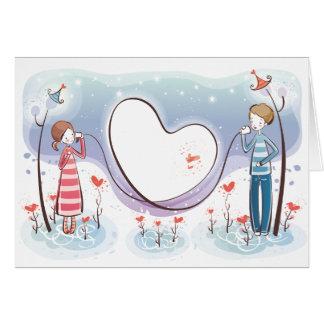 お洒落なロマンスのNotecard カード