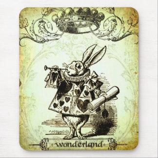 お洒落な不思議の国 マウスパッド