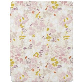 お洒落な動物を表示するパターン iPadスマートカバー
