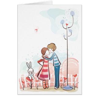 お洒落な愛Notecard カード