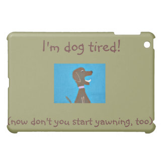 お洒落な犬のデザインの私パッドの箱 iPad MINI CASE
