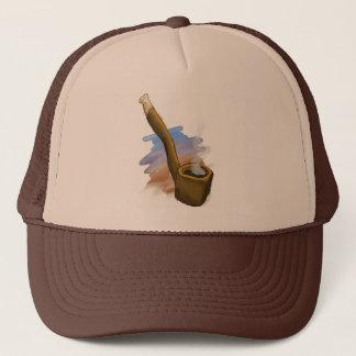 お洒落な管のイラストレーションの帽子 キャップ