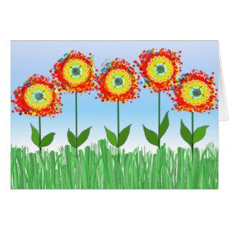 お洒落な花園 カード