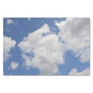 お洒落な雲のティッシュペーパー 薄葉紙