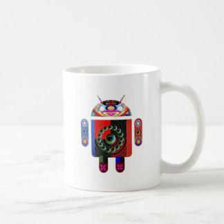 お父さんおよびベビーのアンドロイド- Navin著Art101 コーヒーマグカップ