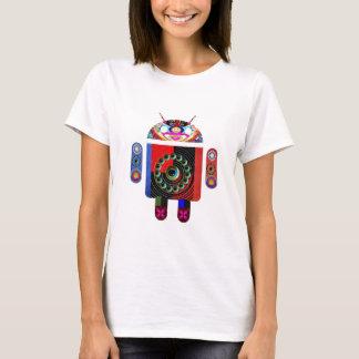 お父さんおよびベビーのアンドロイド- Navin著Art101 Tシャツ