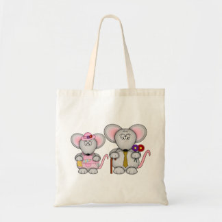 お父さんおよびミイラのマウスのバッグ トートバッグ