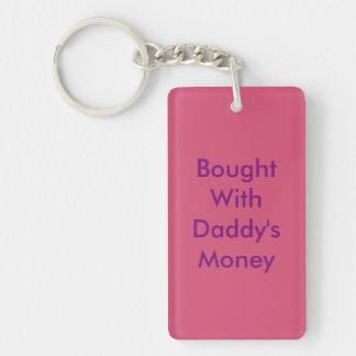 """""""お父さんのお金""""おもしろいなKeychain.と買われて キーホルダー"""