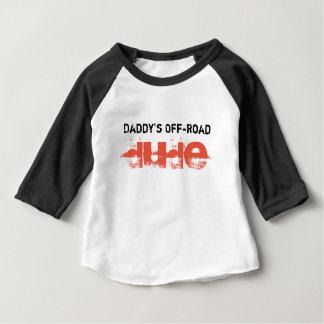 お父さんのオフロード男 ベビーTシャツ