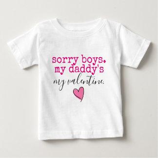 お父さんのバレンタイン ベビーTシャツ