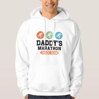 お父さんのマラソンの応援のチーム パーカ