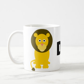 お父さんのライオンのマグ コーヒーマグカップ