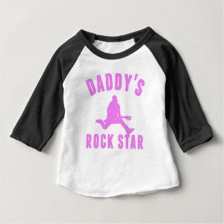 お父さんのロックスター ベビーTシャツ