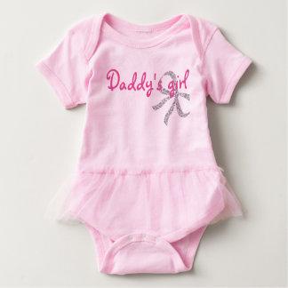 お父さんの女の子のかわいい赤ん坊のチュチュ ベビーボディスーツ