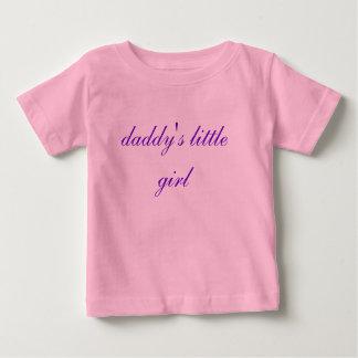 お父さんの小さな女の子のベビーのワイシャツ ベビーTシャツ