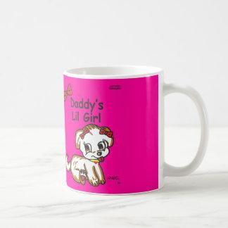 お父さんの小さな女の子のマグ コーヒーマグカップ