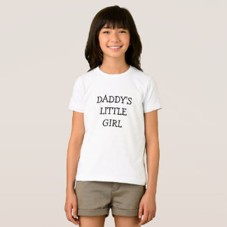 お父さんの小さな女の子の女の子reg。 jerseyのティー tシャツ
