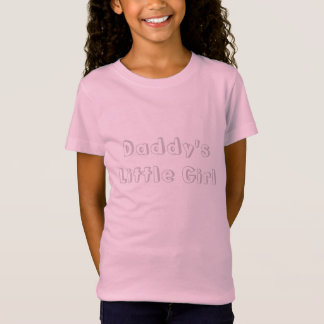 お父さんの小さな女の子のTシャツ Tシャツ