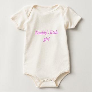 お父さんの小さな女の子 ベビーボディスーツ