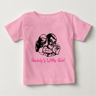 お父さんの小さな女の子 ベビーTシャツ