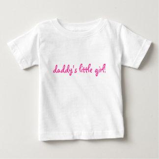 お父さんの小さな女の子! ベビーTシャツ