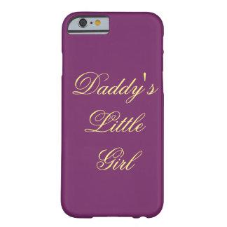 お父さんの小さな女の子 BARELY THERE iPhone 6 ケース