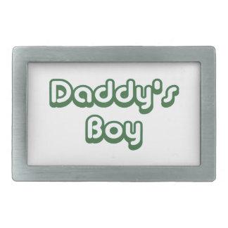 お父さんの男の子 長方形ベルトバックル